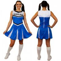 Blue Cheerleader Costume (ILFD4057)